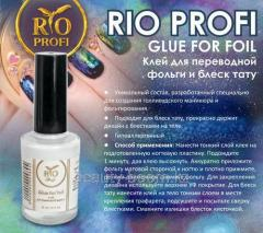 Glue for gloss of a tattoo and foil of 10 ml 90r