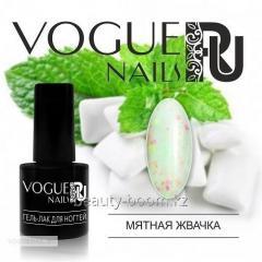 Гель-лак Vogue Nails С конфетти 6ml №728 Мятная
