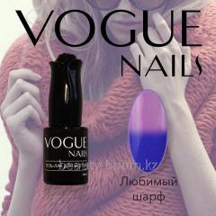 Гель-лак Vogue Nails Термо10ml №701 Любимый шарф