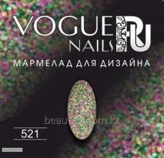 Мармелад для дизайна Vogue Nails 10гр №521