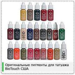 Pigments pour микропигментации