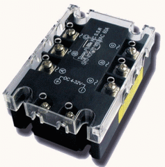 The relay is the solid-state, Solid-state SSR-3A