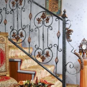 Иранские перила на лестницу в дом