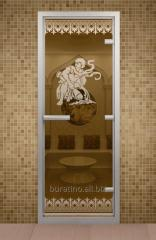 To boors - a door for the Turkish bath