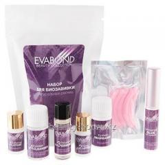 Набор для биозавивки натуральных ресниц Eva Bond