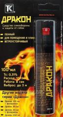 """Cylinder gas. """"Dragon"""" of 100 ml"""