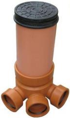 Polyethylene wells