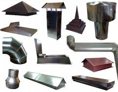 Products from sheet metal