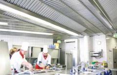 Вентиляционные потолки для кухонь
