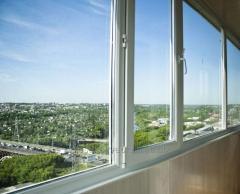 Metalplastic balconies