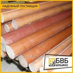 Tekstolit la barra de 8 mm (L~550 mm, ~0,05 kg)