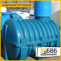 Technological water tank V = 80 M3