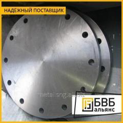 Заглушка фланцевая Ду 125 Ру 100 09Г2С