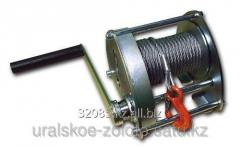 The winch is industrial