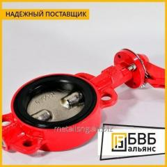 Затвор дисковый DN 80 AISI 304 трехпозиционный p/c