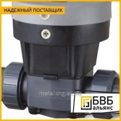 Клапан мембранный с пневмоприводом DN 15 AISI 316L н/з PTFE c/c