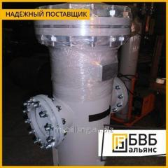 Filter housing with external heating for the petrochemical industry D = 100 mm, P = 1, 6 Mpa