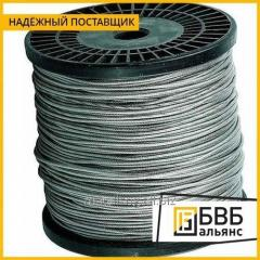 34 mm galvanized wire rope GOST 3070-74
