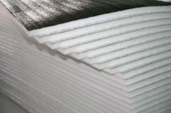 The polyethylene which is made foam - the