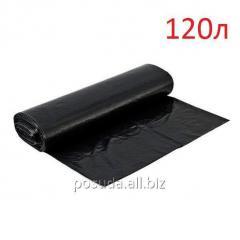 Мешок для мусора 120л,  25шт/рул,  35мкм