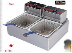 Deep fryer (electric) 11 liter. (2 Tank)