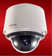 Скоростные поворотные IP-видеокамеры HIKVISION