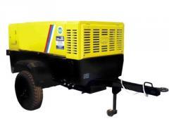 The station is compressor mobile, piston, screw,