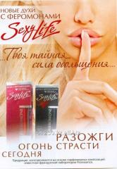Pheromone perfume of SexyLine Lacoste Challenge