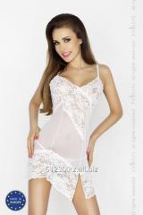 Night dress of Amara Chemise white