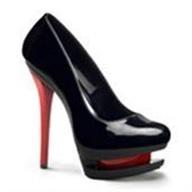 Shoes for strip-plastics