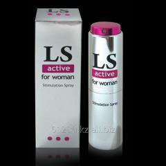 Spray for women of Lovespray Active. 18 ml