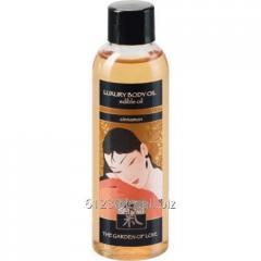 Edible massage Shiatsu oil Cinnamon of 100 ml