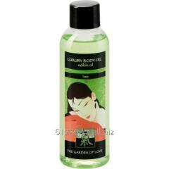 Edible massage Shiatsu oil Lime of 100 ml