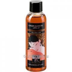 Edible massage Shiatsu oil Chocolate and Mint 100