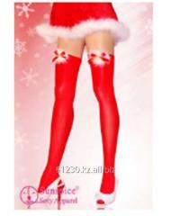 New Year's red stockings