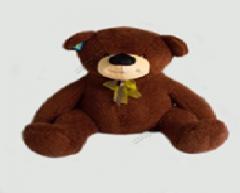 Автотранспортная игрушка Медведь кудрявый,шоколад.