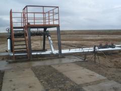 Лубрикаторные площадки для нефтяных скважин