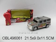 Автотранспортная игрушка Джип на РУ 21см, кор.