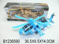 Автотранспортная игрушка Вертолет на батарейках