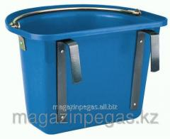 The bucket is hinged