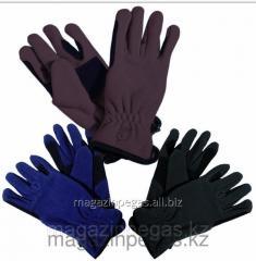 Gloves fleece. Tattini