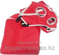 Body cloth raincoat fabric with a hood. art. 01654