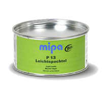 The facilitated polyester Mipa P13 Leichtspachtel