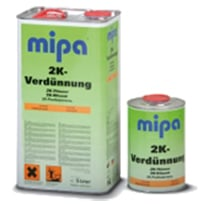 Акриловый растворитель Mipa 2K Verdunnung Normal