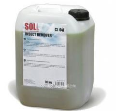 Очиститель для удаления насекомых со стекол Soll