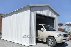 Garage designer from a sandwich panels