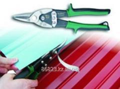 Scissors lever for manual cutting
