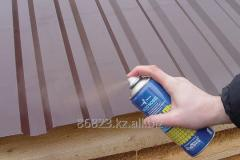 Enamels for roof made of metal, galvanized iron