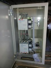 Automatic input of a reserve of AVR of 200 kW, 275
