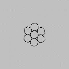 Steel rope of GOST 13840